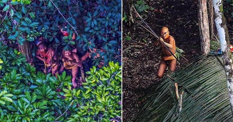 Cadre inedite cu un trib amazonian care trăiește la fel ca strămoșii de acum 20.000 de ani