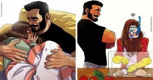 26 ilustrații sincere despre ce înseamnă să fii căsătorit