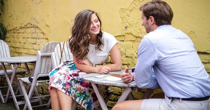 5 întrebări importante pentru a testa bărbatul la prima întâlnire
