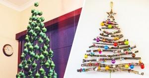15 idei creative care te vor ajuta să obții bradul de Crăciun perfect